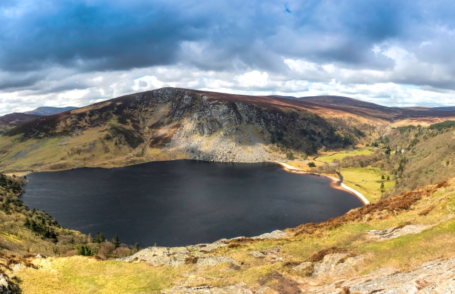 Wicklow Panorama HDR1