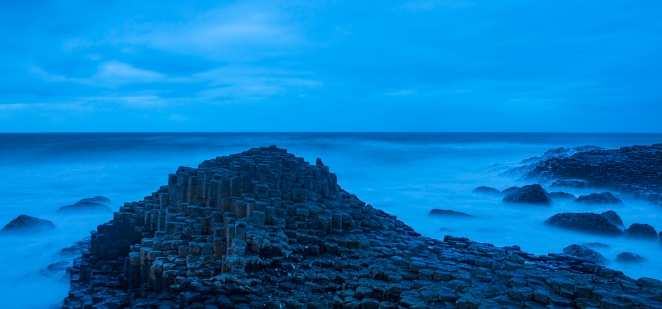 Giants Causeway Night