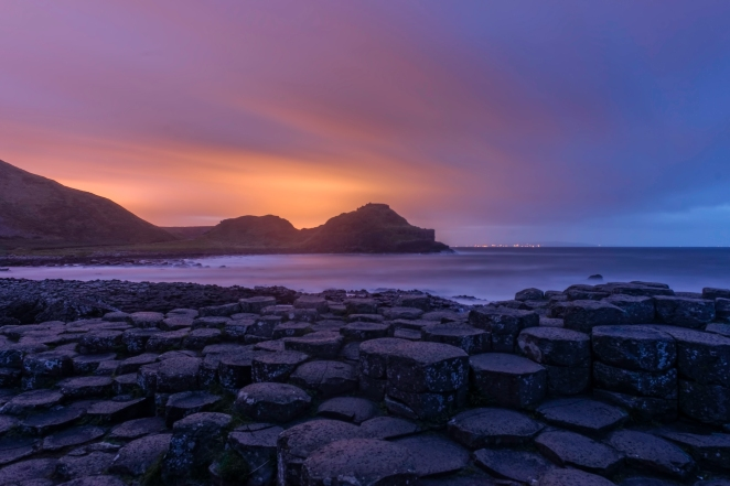 The Giants Causeway at Night