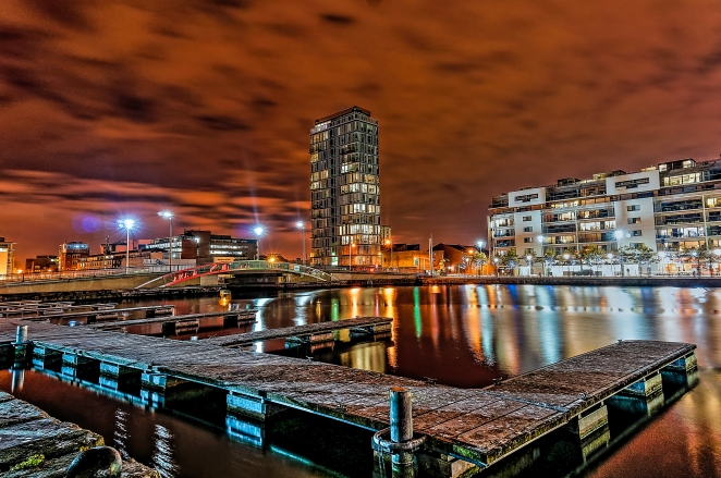 Grand Canal Dock HDR 2