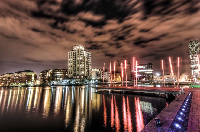Grand Canal Dock HDR1