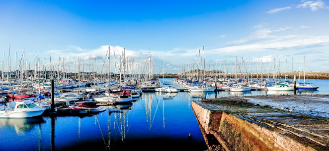 Howth Harbour Panorama HDR 2