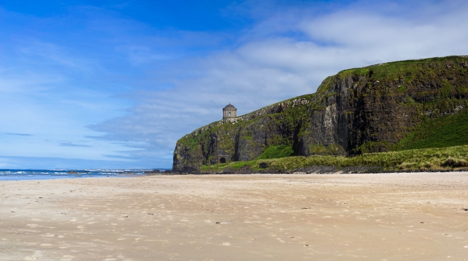 Downhill Beach Panorama
