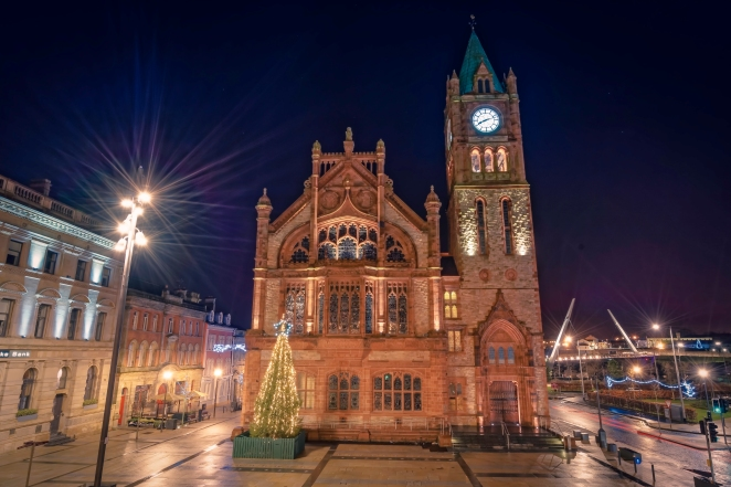 The Guildhall at Christmas