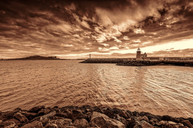 A shot of the lighthouse at Howth Harbour in County Dublin, Ireland taken at Dawn, this morning 2nd September 2015. This shot was taken using a Nikon D810 camera with a Nikkor 16-35mm f/4 wide angle lens, with 3 Lee ND Filters stacked (.3, .6 & .9). It was edited using DXO Pro Optics 10, Adobe Lightroom 5, and Topaz Labs DeNoise 5. Thanks for looking! Nikon D810, Nikkor 16-35mm f/4, ISO 100, 16mm, f/8, 1/8sec, Lee ND Filters (.3, .6 & .9)